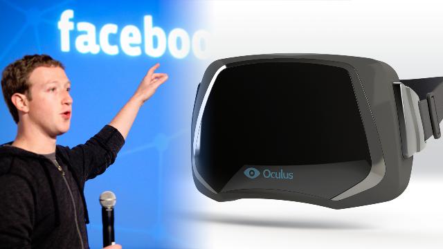 gafas realidad virtual facebook