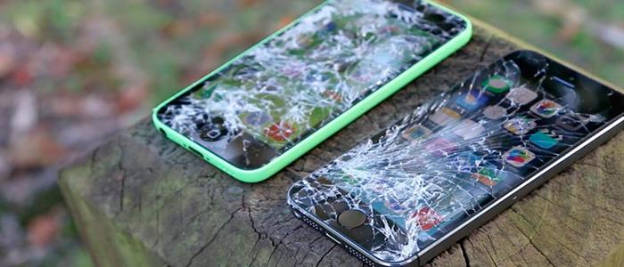 pantalla smartphone rota