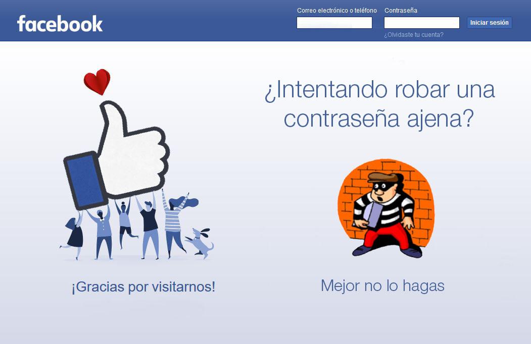 hack contraseña facebook